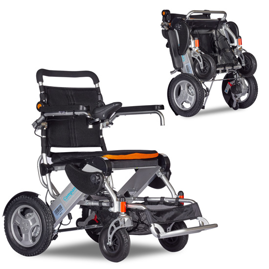 companion 180 wheelchairs open & closed