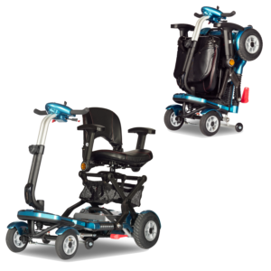 S19F+ Heartway Brio 4 Deluxe Wheel Portable Mobility Scooter