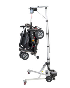 scooter wheelchair hoist