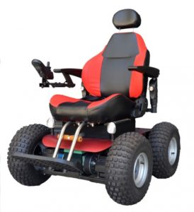 Observer Beach 4×4 All Terrain Electric Wheelchair