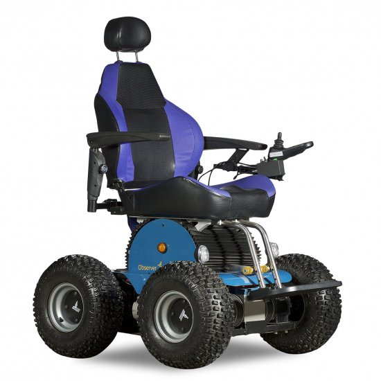 Observer Beach Special Edition 4×4 All Terrain Electric Wheelchair