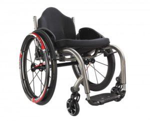 HW5T Manual Wheelchair (Sports Model) – Titanium