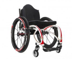 HW6C Folding Manual Wheelchair (Sports Model) – Carbon Fibre