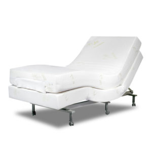 Cloud Latex Adjustable Massage Bed