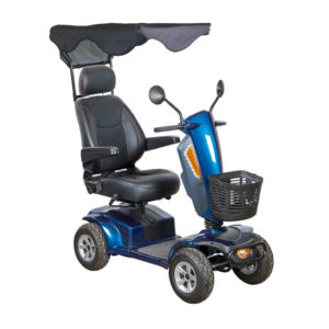 mirage k royal blue with canopy