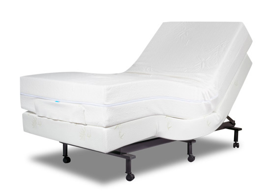 therapeutic adjustable bed