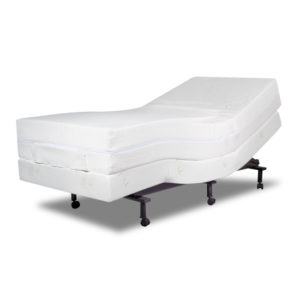 curved therapeutic adjustable bed