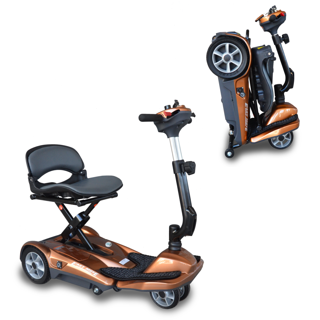NEW S21A Heartway Easy Move Automatic Portable Folding Mobility Scooter