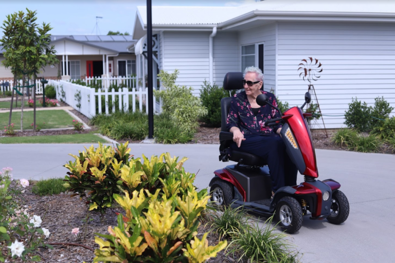 Can I Ride My Mobility Scooter in My Retirement Village?