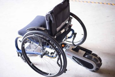 The InMotor: Turn Your Manual Wheelchair into an Electric Wheelchair