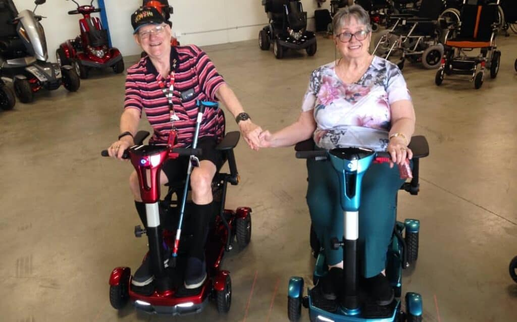 mobility scooter for couples