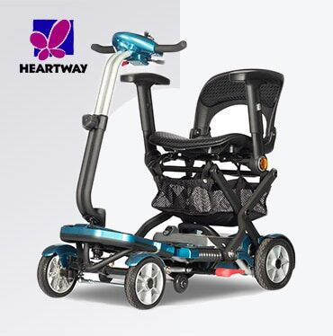 S19F Heartway Brio 4 Wheel Portable Mobility Scooter
